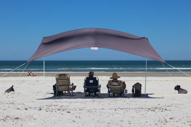 Large Otentik sunshade – Charcoal