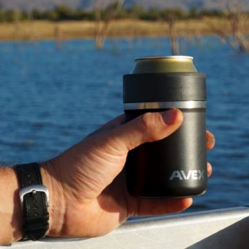 Avex Lounger insulated beer can/bottle koozie